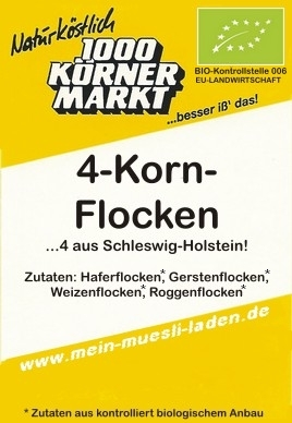 4-Korn-Flocken  5.000 g