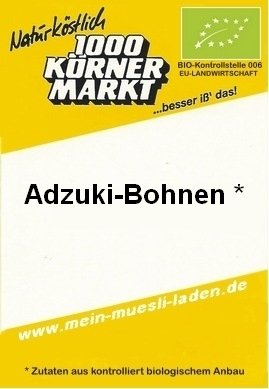Adzuki-Bohne, ECO-Family-Pack 1.000g