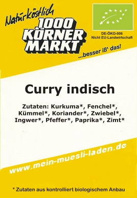 Curry, indisch 100 g  3,99
