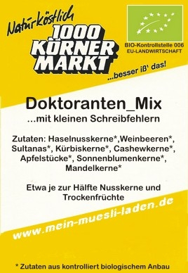 Doktoranten-Mix 400 g