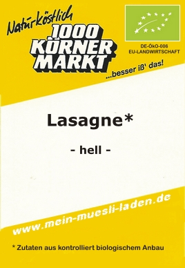 Lasagne - hell 500g