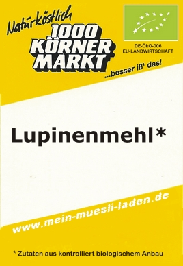 Lupinenmehl 750 g