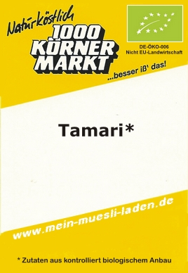 Tamari - Sojasauce - Original  500 ml